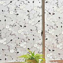DSAQAO Dekorativen milchglas fensterfolie,