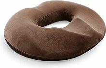 DSAQAO Memory-Schaum Donut sitzkissen, Für Stuhl