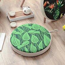 DSAQAO Verdicken runde futon Kissen, Baumwolle