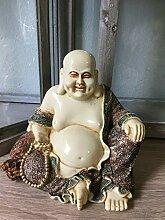 DSC Buddha Figur lachender Dicker Happy Buddha XL
