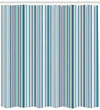 dsgrdhrty Gestreifte blau lila Geometrie