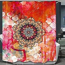 dsgrdhrty Mandala Geometric & Colorful-Ölgemälde