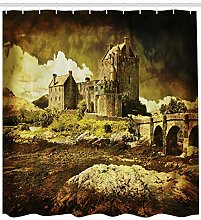 dsgrdhrty Mittelalterliche alte Schottische Burg