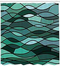 dsgrdhrty Mosaikbrandung des blauen Grüns