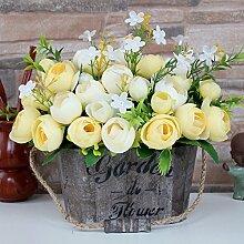 DSPOPEN68 Kunstblumen Künstliche Blumen