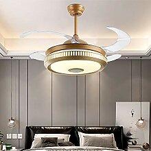 Dsti Super Leise Ventilator mit Licht LED Dimmbar