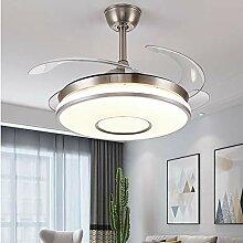 Dsti Super Leise Ventilator mit Licht, LED Modern