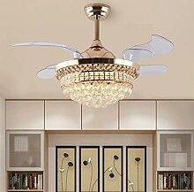 Dsti Super Leise Ventilator mit Licht LED Modern