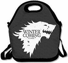 DSYBTV Lunchtasche Game of Thrones Lunchbox für