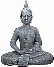 dszapaci Buddha Figur Groß 65cm Figur für Garten