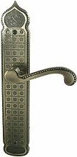 DT 2000632310Tür Griff mit Platte Sesam Zamak Old ohne Loch Silber