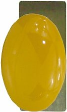 DT 2000Zamak 153884Fenster Griff, oval Porzellan Golden Gelb vernickelt Satin Finish
