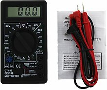 dt-832 Mini Typ Multimeter Multifunctional Digital tragbarer AC/DC Voltage Measurement schwarz