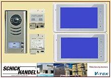 DT592+2xDT27TD/PS4+DPS Video-Sprechanlage Türsprechanlage