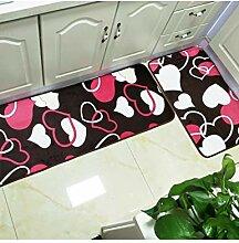 DTCFH Küchenmatten Fußmatte Teppich Für