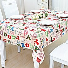 DTGERNJGFD Tabelle Tuch/Tischsets/ TV