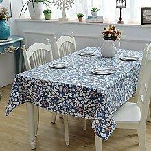 Dthlay Tischdecke Gartentisch Blaupause Haushalt