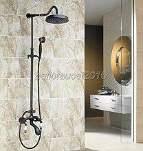 Dual Keramikgriff Badezimmer Regen Dusche