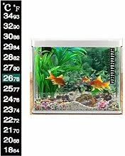 Dual Rahmen Thermometer Fisch Panzer Aquarium