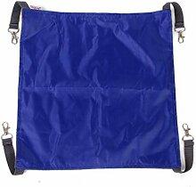 dual-side Pet Katze Hängematte aufhängen Bett für Winter Sommer Verwendung Blau (S)