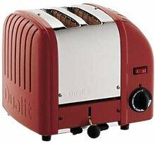 Dualit 20259 Vario Toaster 2 Scheiben, ro