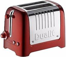 DUALIT 26271 2 Scheiben Lite Toaster, metallic - ro
