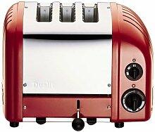 Dualit 31227 Vario Combi Toaster 2+1 Scheiben, ro