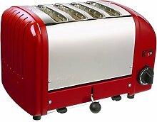 Dualit 4 Slice Toaster Rot 40353 **UK PLUG Livré