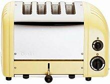 Dualit 40358 Vario Toaster 4 Scheiben, canary gelb