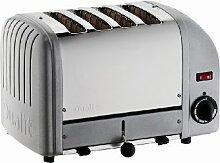Dualit 40362 Vario Toaster 4 Scheiben, metallic