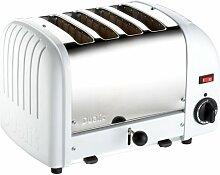 Dualit 40368 Vario Toaster 4 Scheiben, weiß