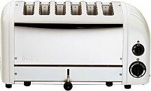 Dualit 60164 Vario Toaster 6 Scheiben, weiß