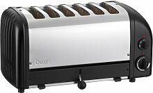 Dualit 60167 Vario Toaster 6 Scheiben, schwarz