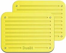 Dualit Architect Toaster-Platten Citrus Yellow