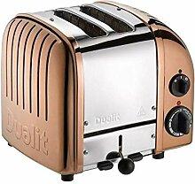Dualit Classic NewGen Vario 2 Toaster, kupfer