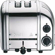 Dualit Classic NewGen Vario 2 Toaster, silber