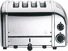 Dualit Classic NewGen Vario 4 Toaster, silber