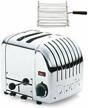 Dualit Toaster Vario 2 mit Brötchenaufsatz