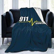 Duang Überwurfdecke '911 Dispatcher Heartbeat