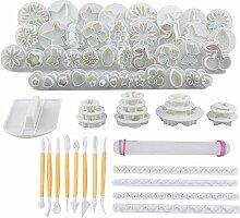DUBENS 68 pcs Kuchen Dekoration Werkzeug Kit,
