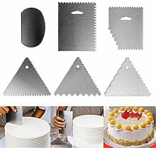 DUBENS 6er Set Kuchen Dekorieren Werkzeuge