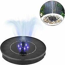Dubleir Solar Springbrunnen mit 6 LED Leuchten,