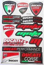 DUCATI Corse stickers decals aufkleber - 1 shee