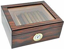 DUCIHBA Desktop Humidor Case für 25–50