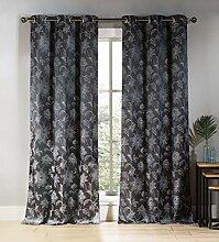 Duck River Textil floral Tülle Fenster Vorhang