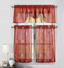Duck River Textil Fruit Küche Fenster Vorhang