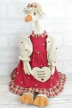 Duck Türstopper Neuheit Home Sweet Home Retro Vintage Stil Shabby Chic fd2916