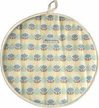 Duckydora Florenz Herdabdeckplatte rund, gelb
