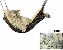 Ducomi Sleepat Hängematte Katze mit weicher und
