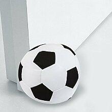 Ducomi Türstopper A Fußboden 1,5kg A Form von Ball aus Stoff mit wattierter–Ideal für Camera von Kinder und Mädchen–Design Original und realistisch